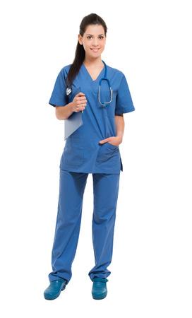 전체 간호사 웃는