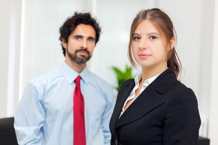company job: Business couple