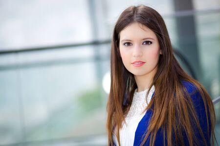 girls youth: Woman portrait Stock Photo