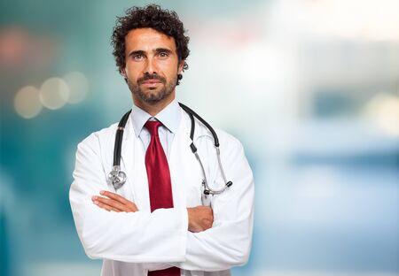 Handsome doctor portrait 写真素材