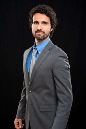 Portrait of a handsome businessman Stok Fotoğraf