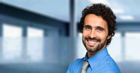 Portrait of an handsome businessman Imagens