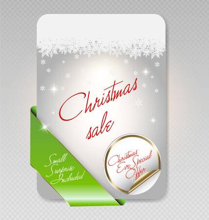 illustration of Christmas sale card Stock Vector - 16160678