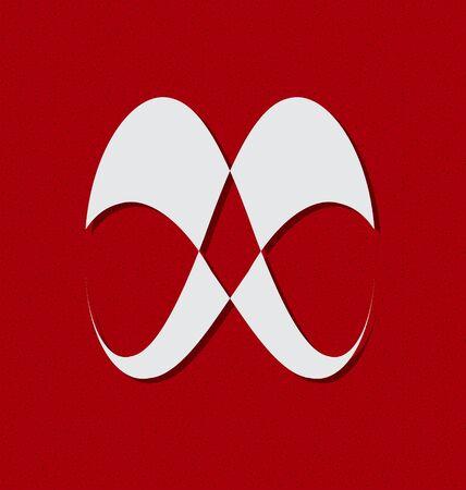 Originally designed abstract brand logo Vector
