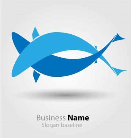 Originally designed abstract brand logo