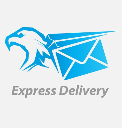 fast delivery: Originally created  express, fast delivery icon Illustration