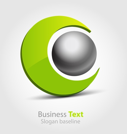 Originally designed abstract business icon
