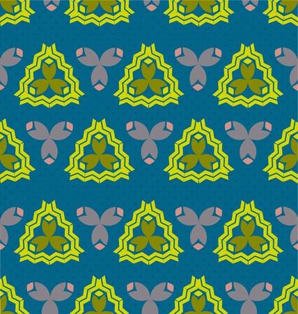 Seamles vintage pattern tile for multipurpose use in design Stock Vector - 20901589