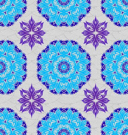 Seamless ornament pattern tile for design needs Stock Vector - 21883727