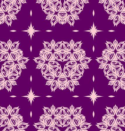 Seamless ornament pattern tile for design needs Stock Vector - 21883728