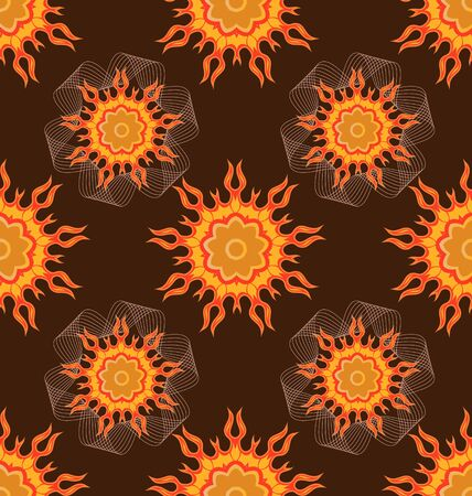 Seamless ornament pattern tile for design needs Stock Vector - 21883732