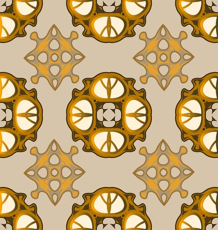 Seamless ornament pattern tile for design needs Stock Vector - 21883733