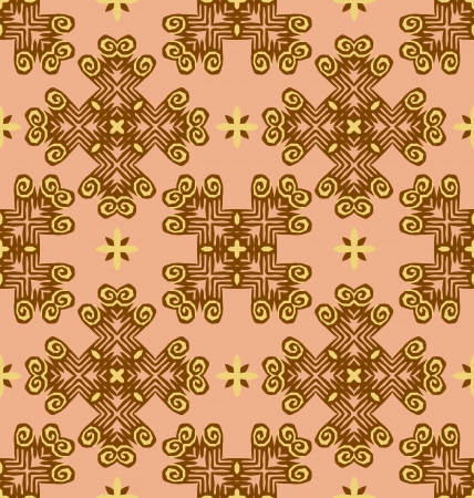 Seamless ornament pattern tile for design needs Stock Vector - 21883736