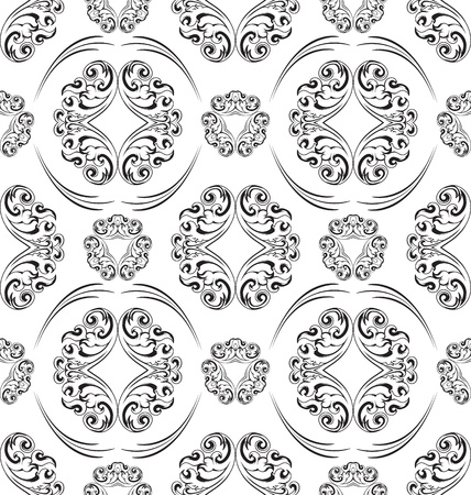 Seamless ornament pattern tile for design needs Stock Vector - 21883739