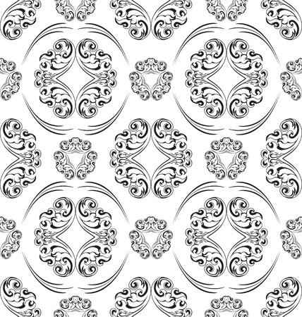 Seamless ornament pattern tile for design needs Stock Vector - 21883739