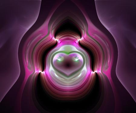originally: Originally created computer fractal artwork for design needs