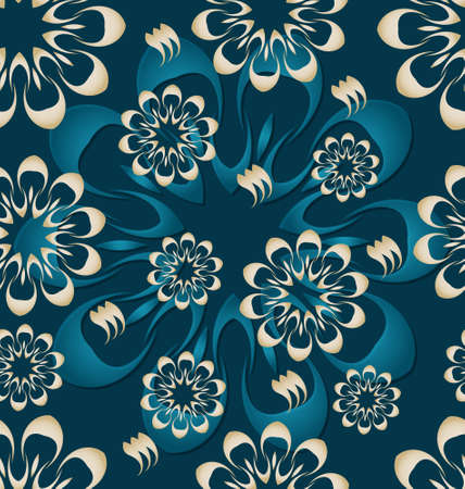 Seamless ornament pattern tile for design needs Stock Photo - 21883785