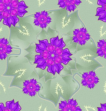 Seamless ornament pattern tile for design needs Stock Photo - 21883786