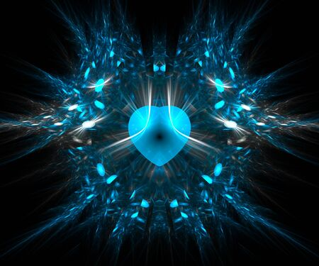 Computer generated fractal artwork for creative design needs Stock Photo - 22299770