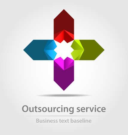 originally: Originally designed business icon for creative design Illustration