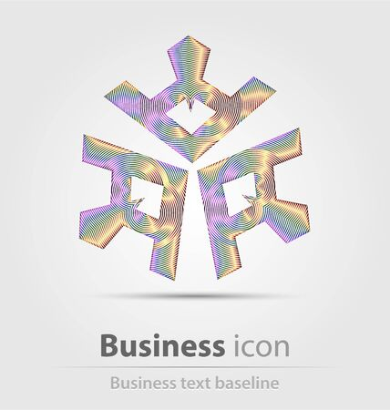 originally: Originally created business icon for creative design work