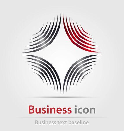 corporations: Originally created business icon for creative design work