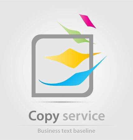 renewal: Originally created business icon for creative design