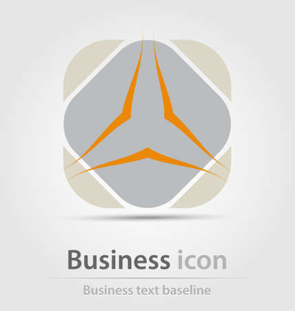 renewal: Originally created business icon for creative design tasks Illustration