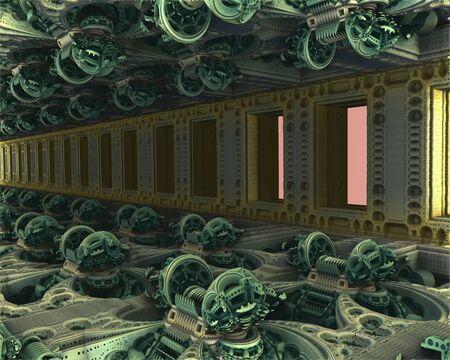 precise: Computer rendered virtual scenery for creative design