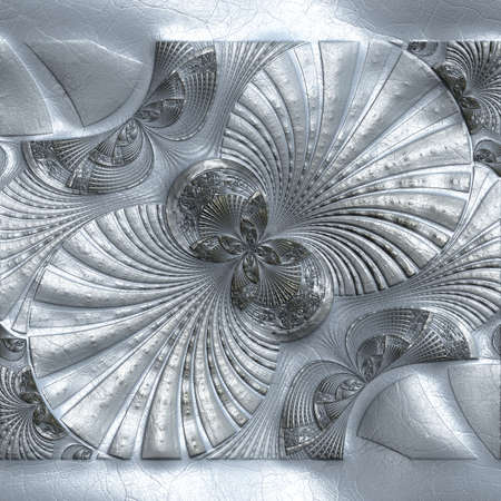 Luxury background with embossed pattern on leather for creative design work