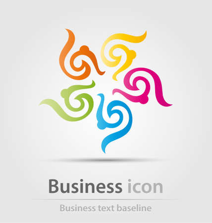renewal: Originally created business icon for creative design work