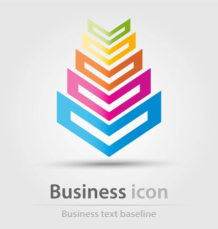 created: Originally created business icon for creative design tasks Illustration
