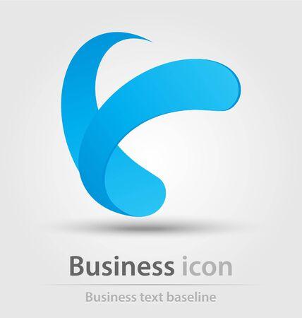 originally: Originally created business icon for creative design tasks Stock Photo