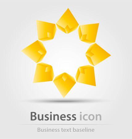 renewal: Originally created business icon for creative design tasks Illustration
