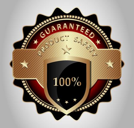 luxurious: Original design of a luxurious market label,emblem,sticker