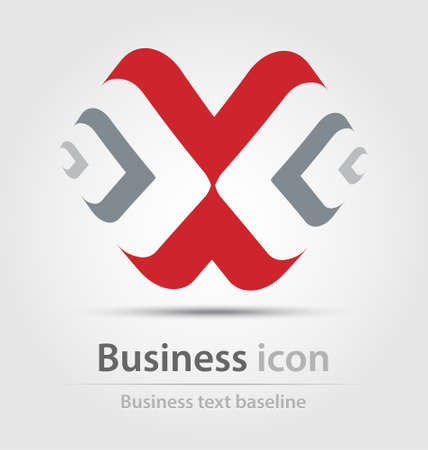 renewing: Originally created business icon for creative design tasks Stock Photo