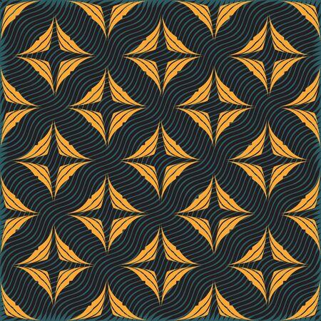 tile pattern: Seamless ornament pattern vector tile for multipurpose use in design Illustration