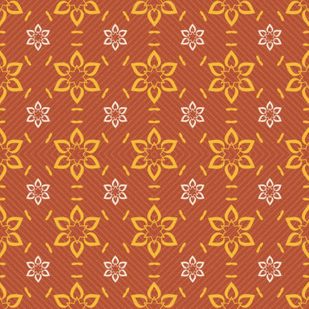 seamless tile: Seamless ornament pattern vector tile for multipurpose use in design Stock Photo
