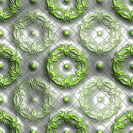 tile able: Plastic background tiles with embossed abstract ornament