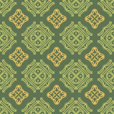 inlay: Seamless ornament pattern vector tile for multipurpose use in design Stock Photo