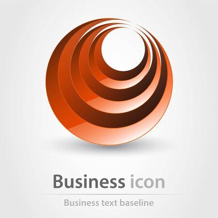 corporations: Originally created business icon for creative design tasks Illustration