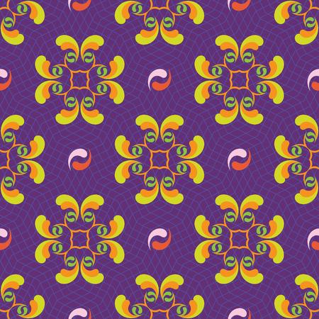 Seamless ornament pattern vector tile for multipurpose use in design