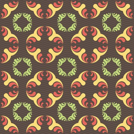 tile able: Seamless ornament pattern vector tile for multipurpose use in design Stock Photo