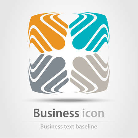 creativity and innovation: Originally created business icon for creative design tasks Illustration