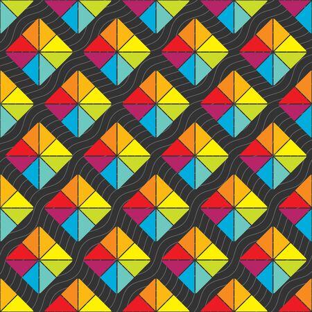 Seamless ornament pattern Vektor-Fliese für den universellen Einsatz in Design
