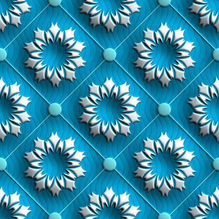fresco: Plastic background tiles with embossed abstract ornament
