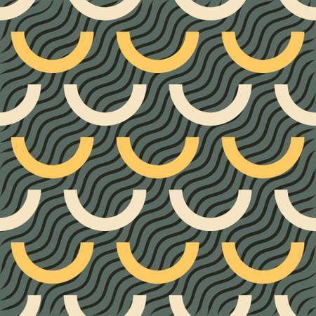 fresco: Seamless ornament pattern tile for multipurpose use in design