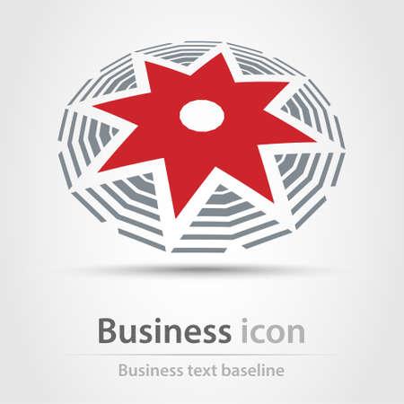 originally: Originally created business icon for creative design tasks Illustration