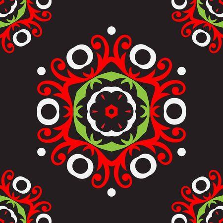 Ornament pattern vector tile for multipurpose use in design Stock Photo