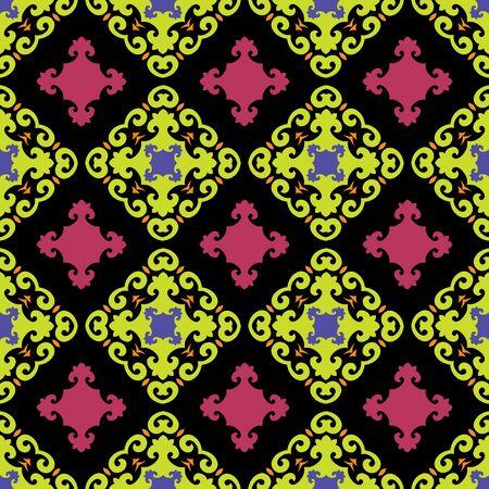 masonry: Ornament pattern vector tile for multipurpose use in design Illustration